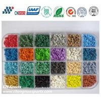 Buy Various Bright Colours UV Resistant  EPDM Rubber Granules at wholesale prices