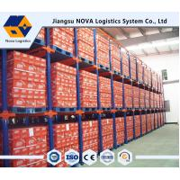 China Double Entry Powder Coating Drive In Pallet Racking For Raw Materials on sale