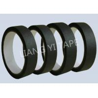 Heat Resistance Automotive Masking Tape , Black Electrical Masking Tape for sale