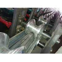 Quality CSA Freeway Two Waves Guardrail Roll Forming Machine by Panasonic PLC Control for sale