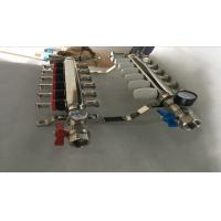 Quality S S 201 Floor Heating Manifold With Two Ball Valve / Brass Water Manifold for sale
