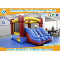 Quality PVC Inflatable Bouncy Castle For Kids , Indoor Inflatable Trampoline Bouncer for sale