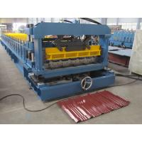 Professional Automatic Cutting Metal Roll Forming Machines For Garden Roof