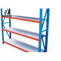 China Epoxy Powder Coated Galvanized Speed Pallet Rack Shelving / Warehouse Storage Shelving on sale