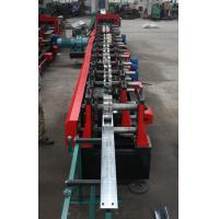 Quality Customized C Z Purlin Roll Forming Machine , Electric Fully Automatic PLC  Control Export Macedonia for sale