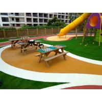 Quality Skid Proof EPDM Rubber Flooring With 100% Recycled Rubber Granules for sale