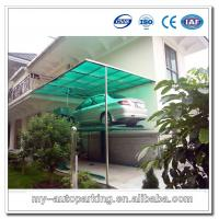 China Double Car Stack Parking System Car Stacker Multipark Double deck car parking on sale