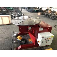 Quality Welding Rotating Table 1000kg Welding Positioners Remote Hand Control Box for sale