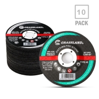 Quality 80M/S Abrasive 4.5 Inch Cut Off Wheel For Steel With Angle Grinder for sale