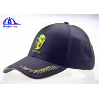 Quality Custom Embroidered Hats LED Baseball Cap with 100% Polyester Microfiber Fabric for sale