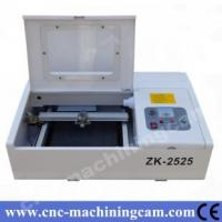 Quality rubber stamp making machine supplier ZK-2525-40W(250*250mm) for sale