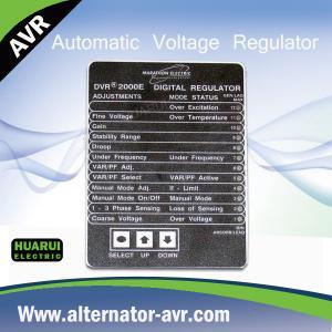 Quality Marathon DVR2000E AVR Automatic Voltage Regulator for Brushless Generator for sale