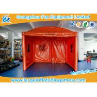 Buy Orange Oxford Outside Small Inflatable Bubble Tent For Party / Event at wholesale prices