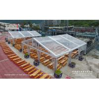 China 9x9m transparent roof clear tent for ourdoor catering and party events for sale