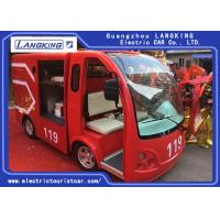 China Climbing Ability by 15% Fire Engine Pumper Max.Speed 28km/h Electri Freight Car on sale