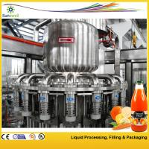 China 2000BPH - 20000BPH Juice Filling Machine , Automatic Tropical Fruit Production Line on sale
