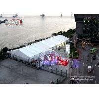 Buy cheap 15m x 40m Waterproof Luxury Wedding Tent with Air Conditioner , Marquee with decoration from wholesalers