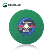 Quality MPA Metal 355mm 14 Inch Resin Green Cutting Disc for sale