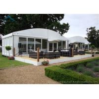Quality Dome White Marquee Tents Aluminium  Fireproof PVC Roof  For Exhibition for sale
