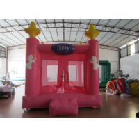 Buy cheap Colourful Custom Inflatable Big Bouncy Castle Kids Indoor Inflatable Bouncer Fire Resistance PVC from wholesalers