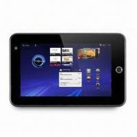 Quality Android 2.3 Tablet Computer with Samsung Solution 1GHz, Supports Skype Voice Calling, CE, RoHS Marks for sale