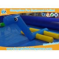 Quality Outdoor Inflatable Water Park Games Inflatable Water Toys Float Horse Water Fountain For Pool for sale