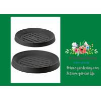 Buy Plastic Flower Pot Saucers / Plant Pot Trays Prevents Water Stains On Decks at wholesale prices