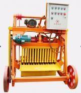 China QMJ 4-45 manual concrete block making machine , concrete hollow brick molding machine on sale