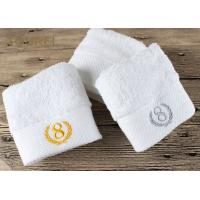 Quality 100% Cotton Platinum Satin Hotel Face Towel for sale