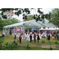 Flame Retardant Wedding Marquee Tent , Luxury Wedding Reception Tent Wind Resistant for sale
