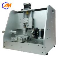 Quality nameplate gold ring brass plate engraving machine with rotary axis for sale for sale