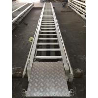 Quality Stainless steel boat ladder LR Approval Marine Aluminum Alloy Fixed for sale