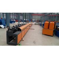 China Sandwich Panel Shutter Door Roll Forming Machine With 36 Roller Stations on sale