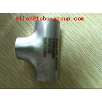 Quality ASTM A403/A403M WPS31254 UNS S31254 Stainless Steel Pipe Fittings Equal and Reducer tee for sale