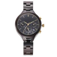 Buy cheap ladies wooden watches , wood Band 38mm Automatic Wrist Watches ,Seagull Movement from wholesalers