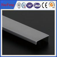 Quality New design 6063 or 6061 aluminum extrusion profiles for aluminum roll up door for sale
