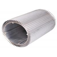 Quality Anodizing Drilling Extruded Aluminum Heatsink Round 6063 T6 for sale