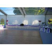 Buy cheap Retardant Waterproof White Cover Aluminum Luxury Wedding Event Tents With White Roof from wholesalers