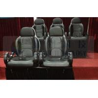 Quality Motion theater chair , separated moving seat , safety protection for sale