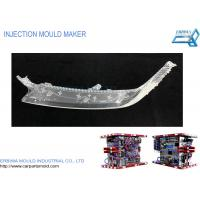Quality Auto Transparent Light Guide Car Parts Mold , Injection Molded Plastic Parts for sale