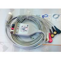 Medical Compatible ECG Patient Cable 12 Pin One Piece Ecg Cables And Leadwires for sale