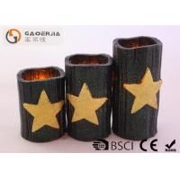 Quality CE / RoHS Approved Halloween Battery Operated Candles 7.5cm Diameter for sale