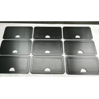 Quality 150 Grind on Both Side Black Anodized Aluminium Industrial Profile For Sturdy Retractable Lid for sale