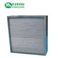 Quality 304 Stainless Steel HEPA Air Filter / High Temp HEPA Furnace Filter For Oven for sale