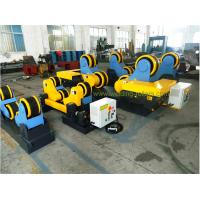 Quality 10T / 100T Double Motor Pipe Supports Stands With Wireless Control Self aligning Rotator for sale