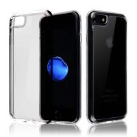 China TPU Bumper Clear Apple Cell Phone Protector Case Black / Red / Pink / Blue / Brown on sale