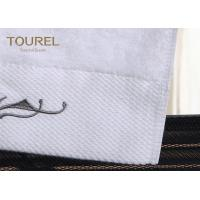Buy cheap 100% Cotton Customized Dobby Hotel Bath PT Towels Sets With Machine Washable from wholesalers