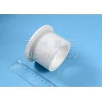 Quality 6g/Cm3 Machinery Component 99% Alumina Ceramic Sleeves for sale