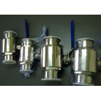 High Sealing Stainless Steel Ball Valve BPE Sanitary Pipe Fittings With Viton Seats for sale