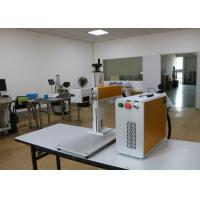 Quality 20w Raycus Fiber Laser Marking Machine 1064nm Laser Wavelength Air Cooling for sale